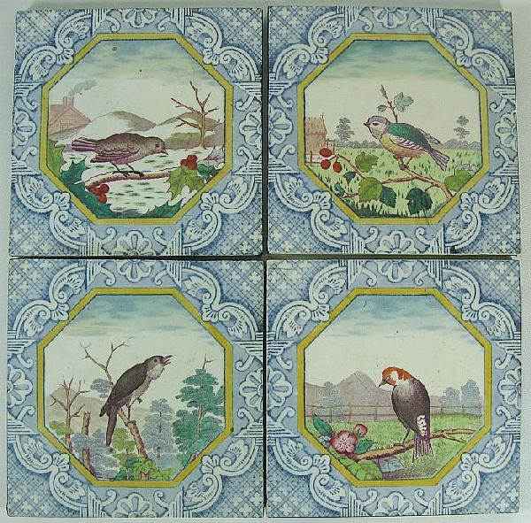 english transferware tiles