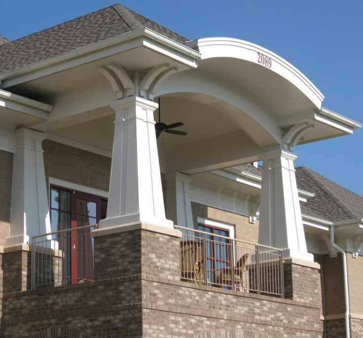 Custom craftsman column meltoncraft pvc columns pinterest for Craftsman columns