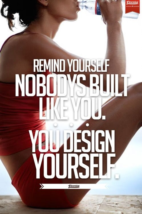 It's true...you really do design you! No one else is like you. No one!