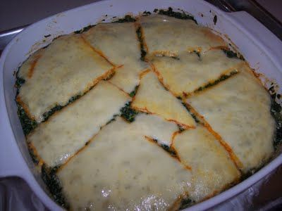 "Looks delicious!! Spinach Muenster ""Quiche""! :D"