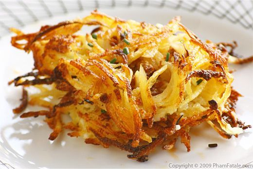 Hash Browns with Goat Ricotta and Chorizo Recipe http://www.phamfatale ...