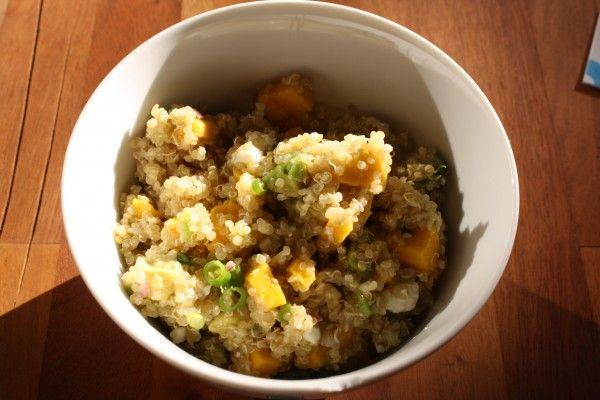 Quinoa Salad with Avocado, Mango, and Feta Recipe Salads with quinoa ...