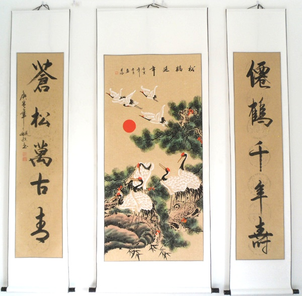 Crane Paintings Images