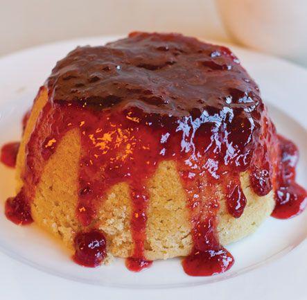 Strawberry Sponge Pudding | Desserts | Pinterest