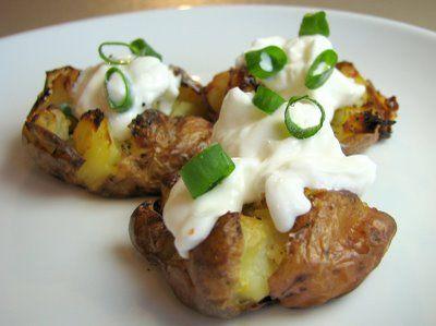 Crash Hot Potatoes | Food and treats | Pinterest