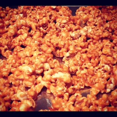 Spicy Caramel Popcorn | Sweet Bites | Pinterest