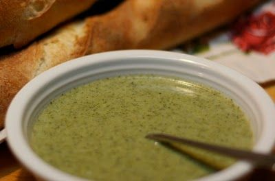 Cream of Broccoli Soup | Focused on Health-Need to Try :) | Pinterest