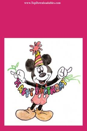 ... Garland | DIY Mickey Mouse Invitations & Party Ideas | Pinterest
