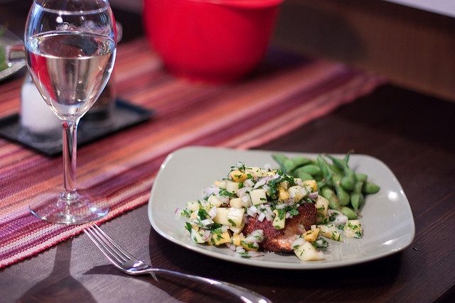 Salmon with Fruit Salsa | Salmon with Fruit Salsa | Pinterest