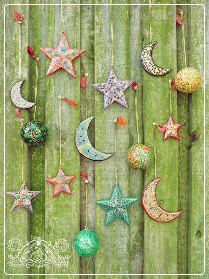 Handmade decorations a happy hippie christmas pinterest for Decoration hippie