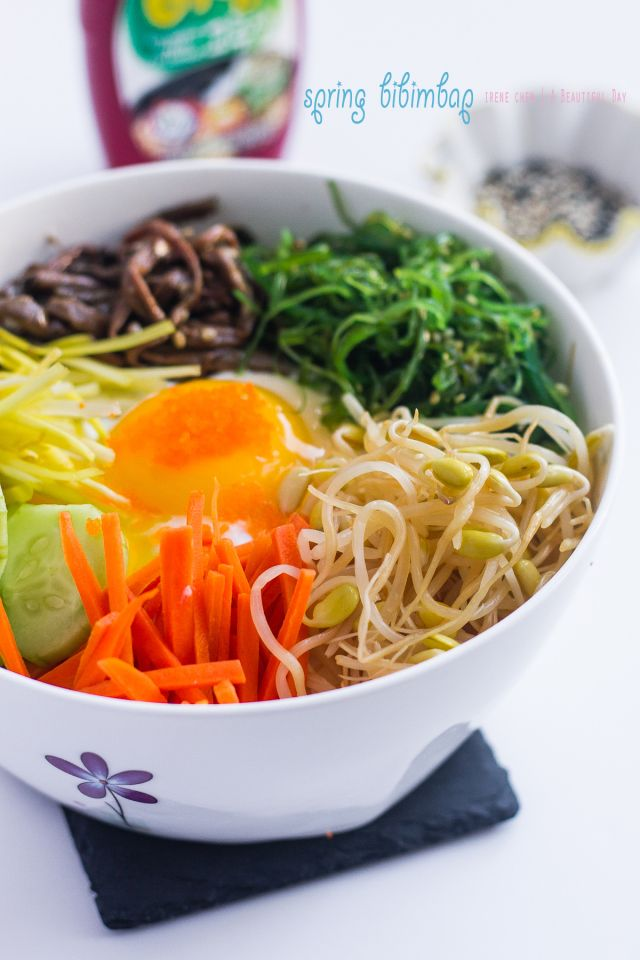 Spring Bibimbap (vegetarian) | Recipes | Pinterest