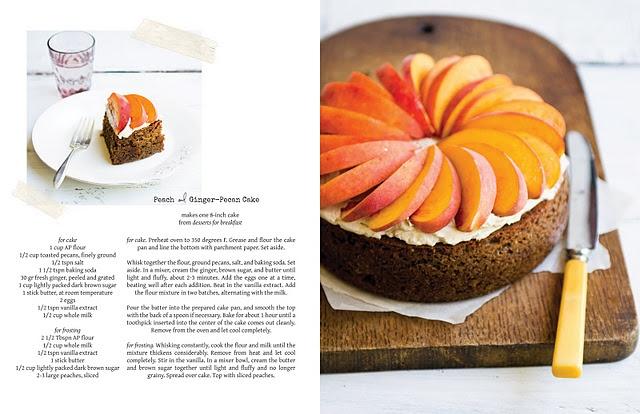 Peach and Ginger-Pecan Cake   CooKBooK   Pinterest