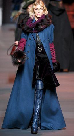 Dior does Yves Klein blue