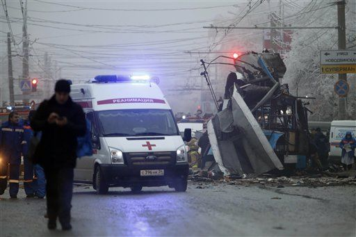 At least 10 killed in bus explosion in Volgograd - http