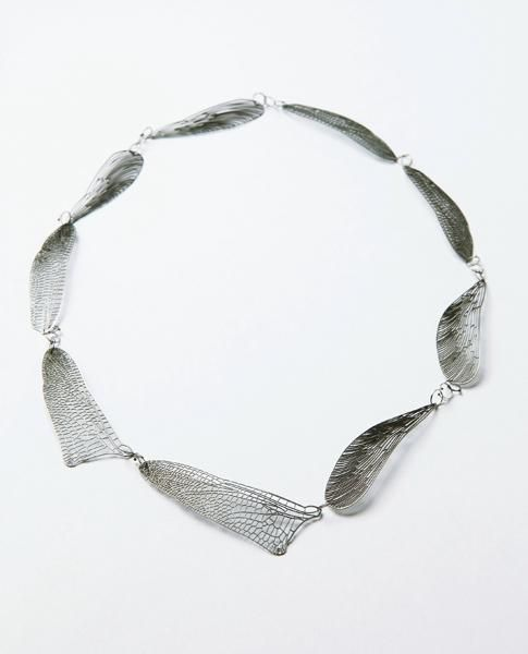 Mirei Takeuchi, What's Untitled, Neck jewelry, 2011, iron, steel