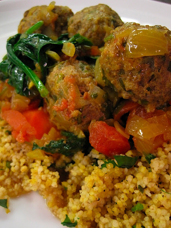 made this Moroccan Beef Meatball Tagine last night -- delicious (and ...