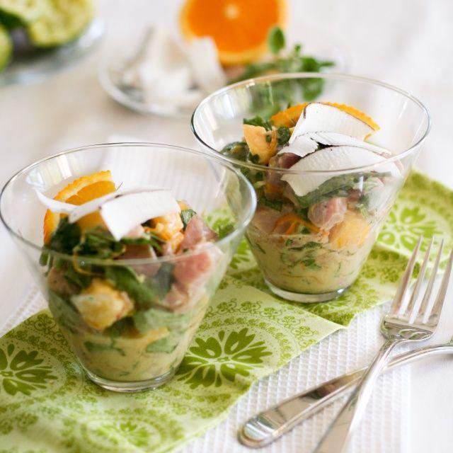 Tropical Tuna Ceviche | Recipe