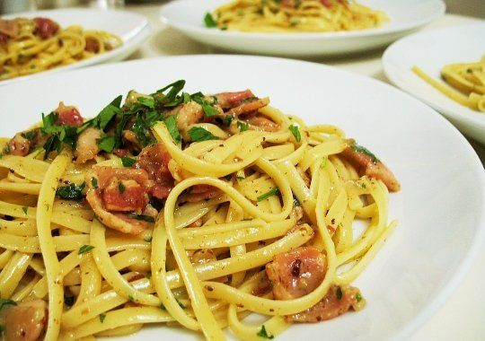 Recipe Recommendation: Pasta Carbonara from Pioneer Woman