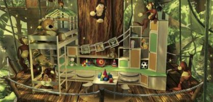 kid jungle room ideas inspiring children s room and study table