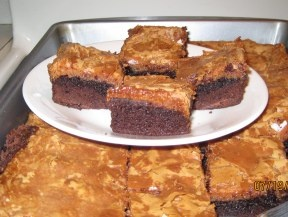 Caramel Cream Cheese Brownies