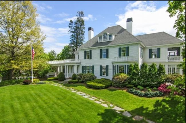 Tour Thayercrest A Beautiful Historic Home In New Hampshire