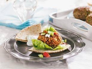 Mini Greek lamb burgers: Get these tasty little morsels perfectly ...