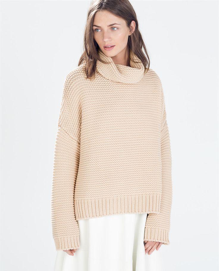 Zara Black High Neck Sweater 27