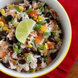 Fiesta Lime Rice-made this, loved it! Might add red onion next time!
