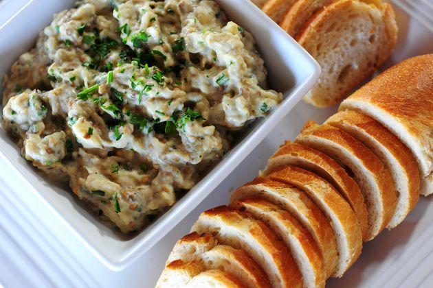 Baba Ghanoush! | Appetizers, Dips, Snacks: Vegetarian | Pinterest