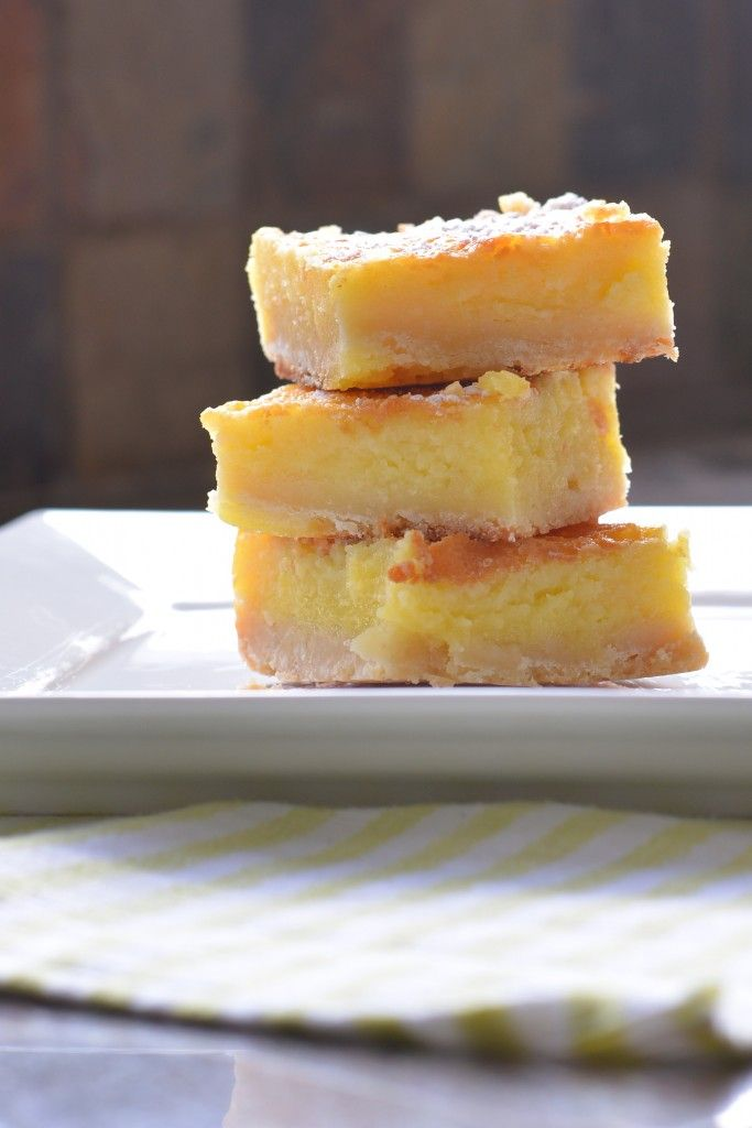 Whole Lemon Bars | Recipe