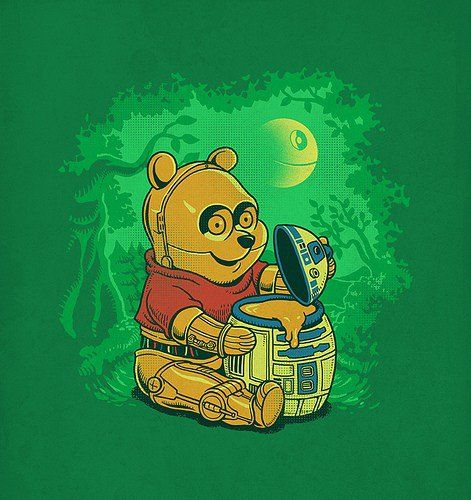 Winnie the Pooh #StarWars mashup