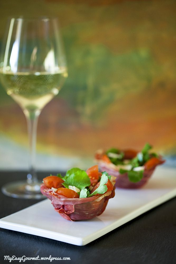 Prosciutto cups | Favorite Recipes | Pinterest
