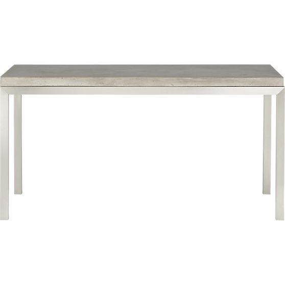 Top 60x36 Dining Table With Stainless Steel Base In Dining Tables