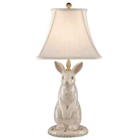Hand Painted Porcelain Rabbit
