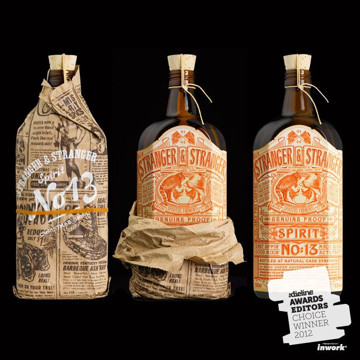 Awesome package design for alcohol