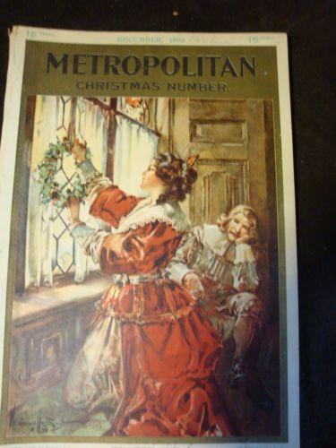 Metropolitan magazine christmas 1898 no reserve ebay