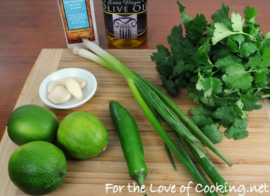 For the Love of Cooking » Cilantro-Lime Marinated Flank Steak