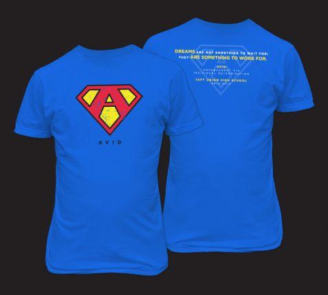 high school avid shirt design another year another fun avid design