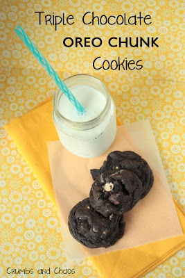 Triple Chocolate Oreo Chunk Cookies: It was everything you would dream ...