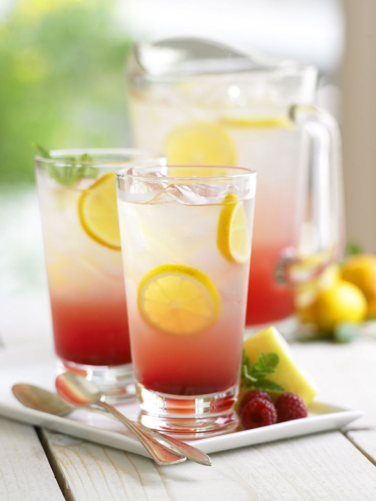 raspberry lemonade | Drinks | Pinterest