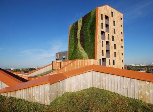 London (tallest living wall in Europe)