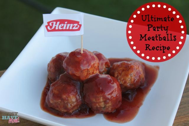Ultimate Party Meatballs Recipe