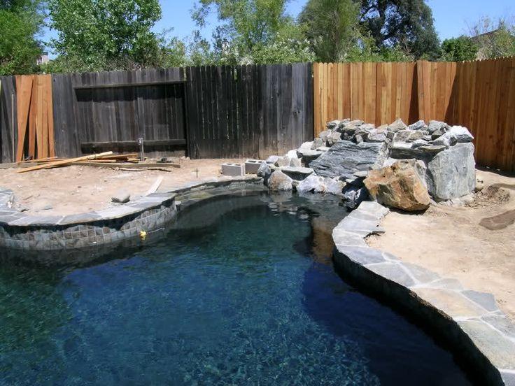 Onyx Pool Plaster : Black onyx pebble sheen patio pool ideas pinterest