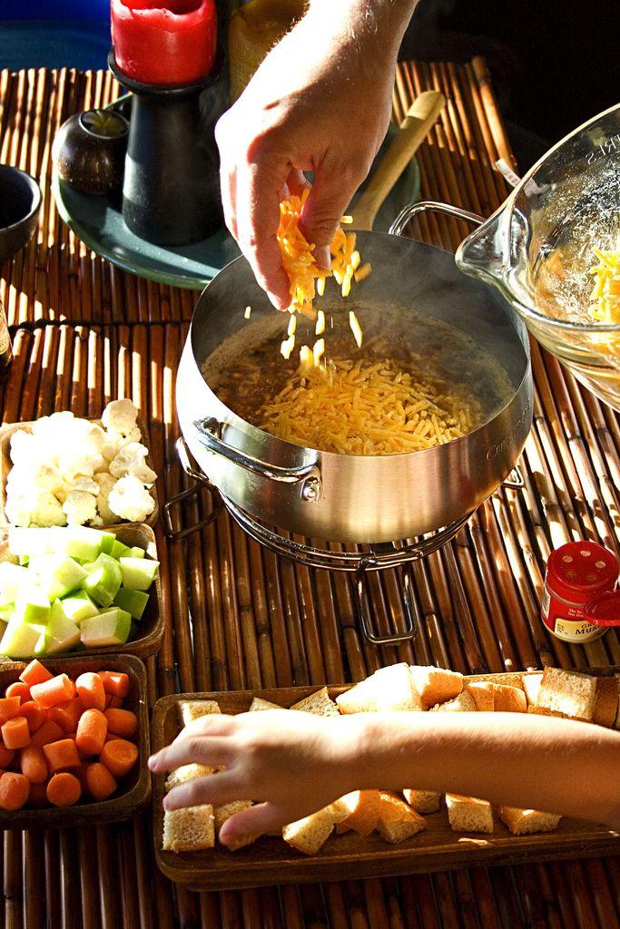 yummy delicious fondue recipes aged cheddar amp guinness fondue