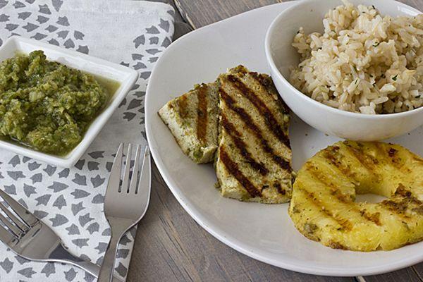 Pineapple jerk tofu | @Oh My Veggies