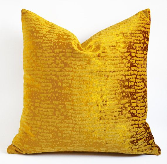 Mustard Throw Pillow Covers : Sukan / Yellow Mustard Decorative Pillow,Throw Pillow Cover Decorativ?