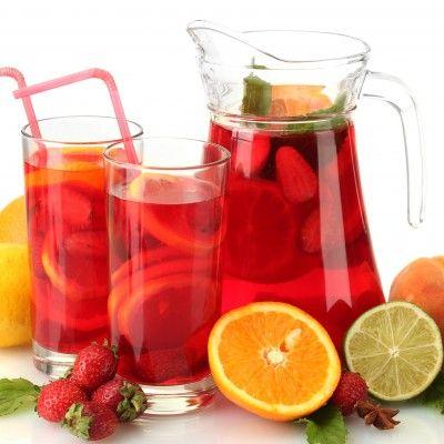 Non-Alcoholic Sangria | Drinks & Juice | Pinterest