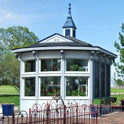 Victorian Style Garden Shed  Green house  Pinterest