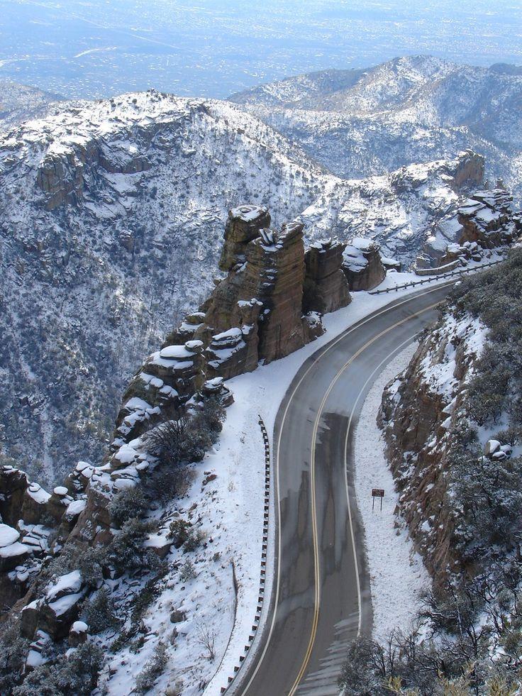 Mt. Lemmon -- Ski just outside of Tucson