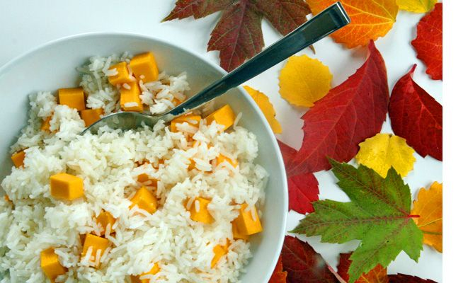 Autumn squash and rice | food n drink | Pinterest